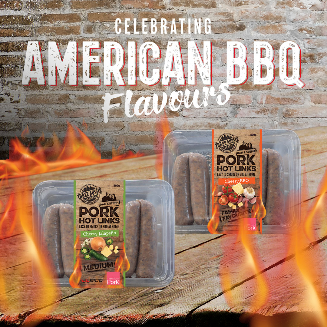 Celebrating American BBQ Flavours - Pork Hot Links