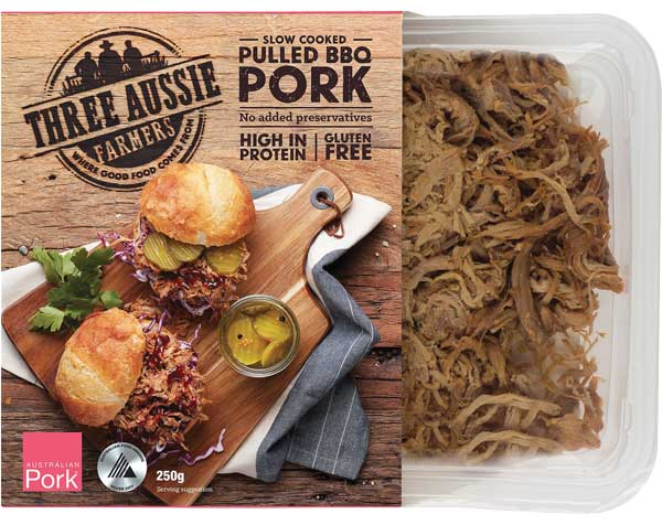 Three Aussie Farmers Pulled Pork