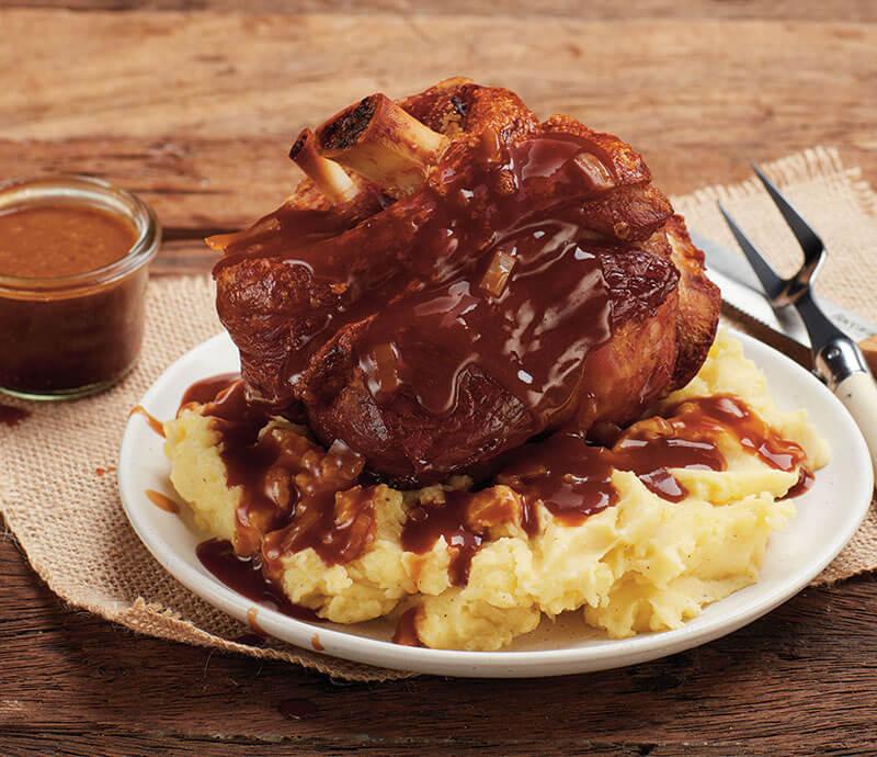 Bier Gravy Recipe - Three Aussie Farmers German Style Pork Knuckle