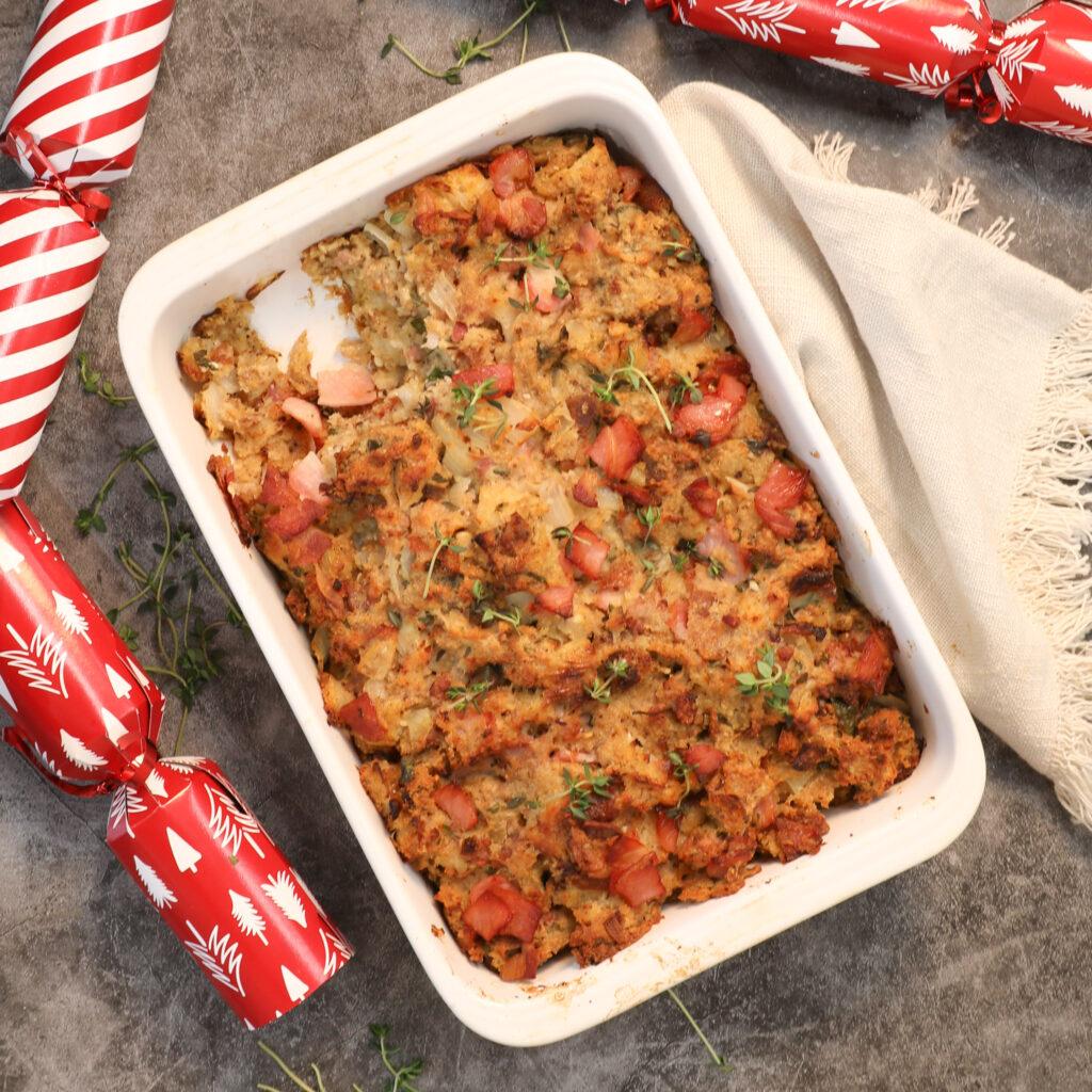 Sausage Stuffing Christmas - Three Aussie Farmers - www.threeaussiefarmers.com.au