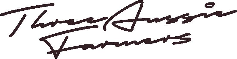 Three Aussie Farmers Signature