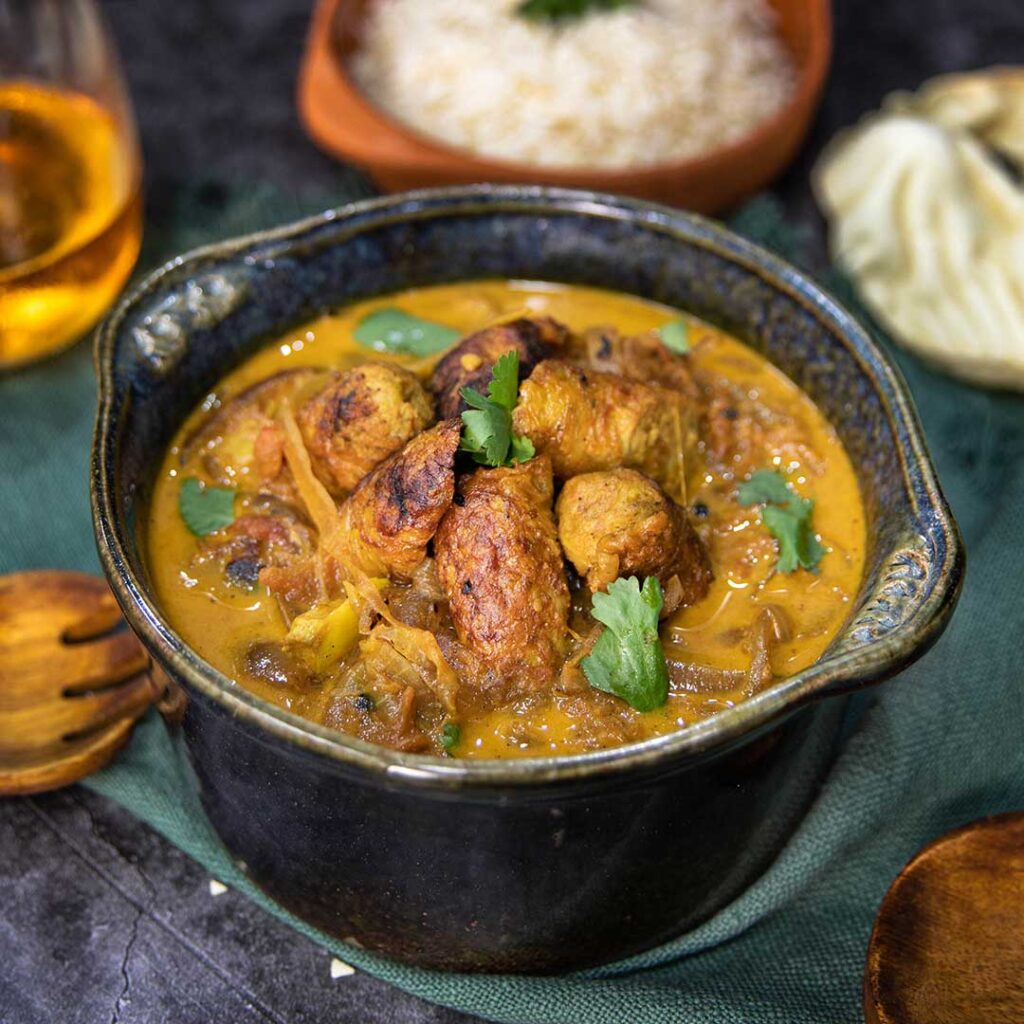 Indian Style Sausage Curry