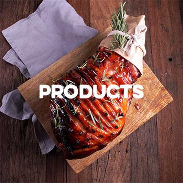 Three Aussie Farmers Products - Sausages, Ham, Pulled Pork, Hock