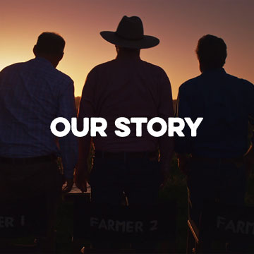 Three Aussie Farmers Story - 100% Owned and Operated
