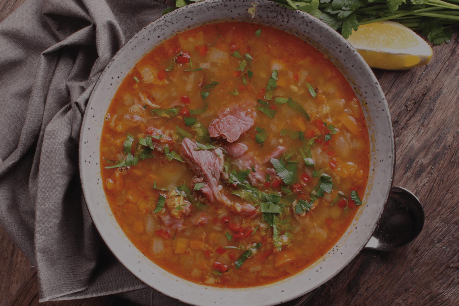 Three Aussie Farmers Hock Soup