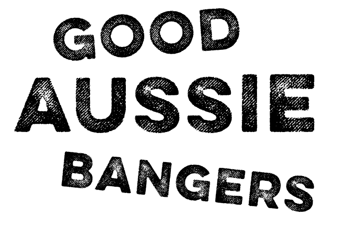 Three Aussie Farmers Good Aussie Bangers