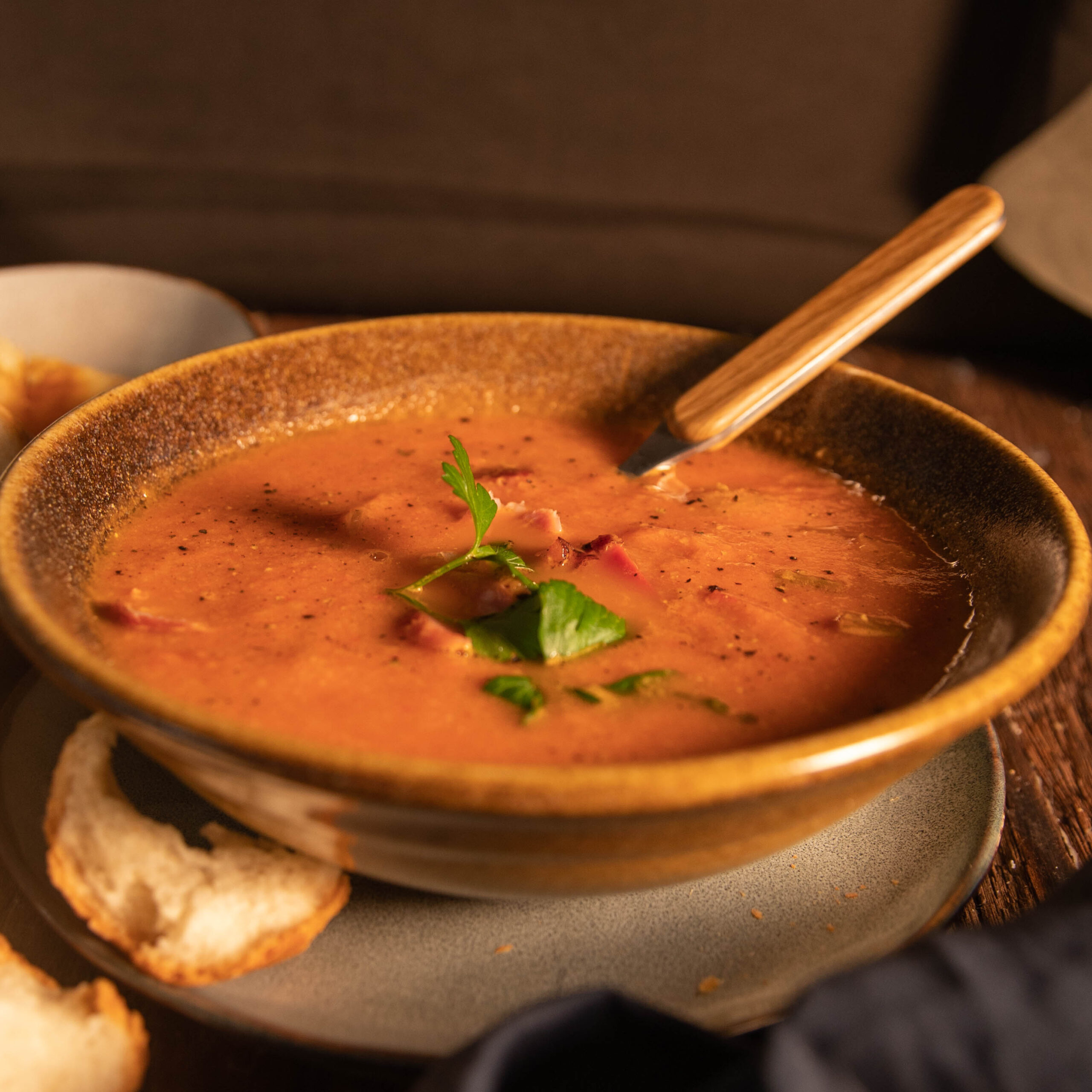 Three Aussie Farmers Cooked Harissa Hock Soup