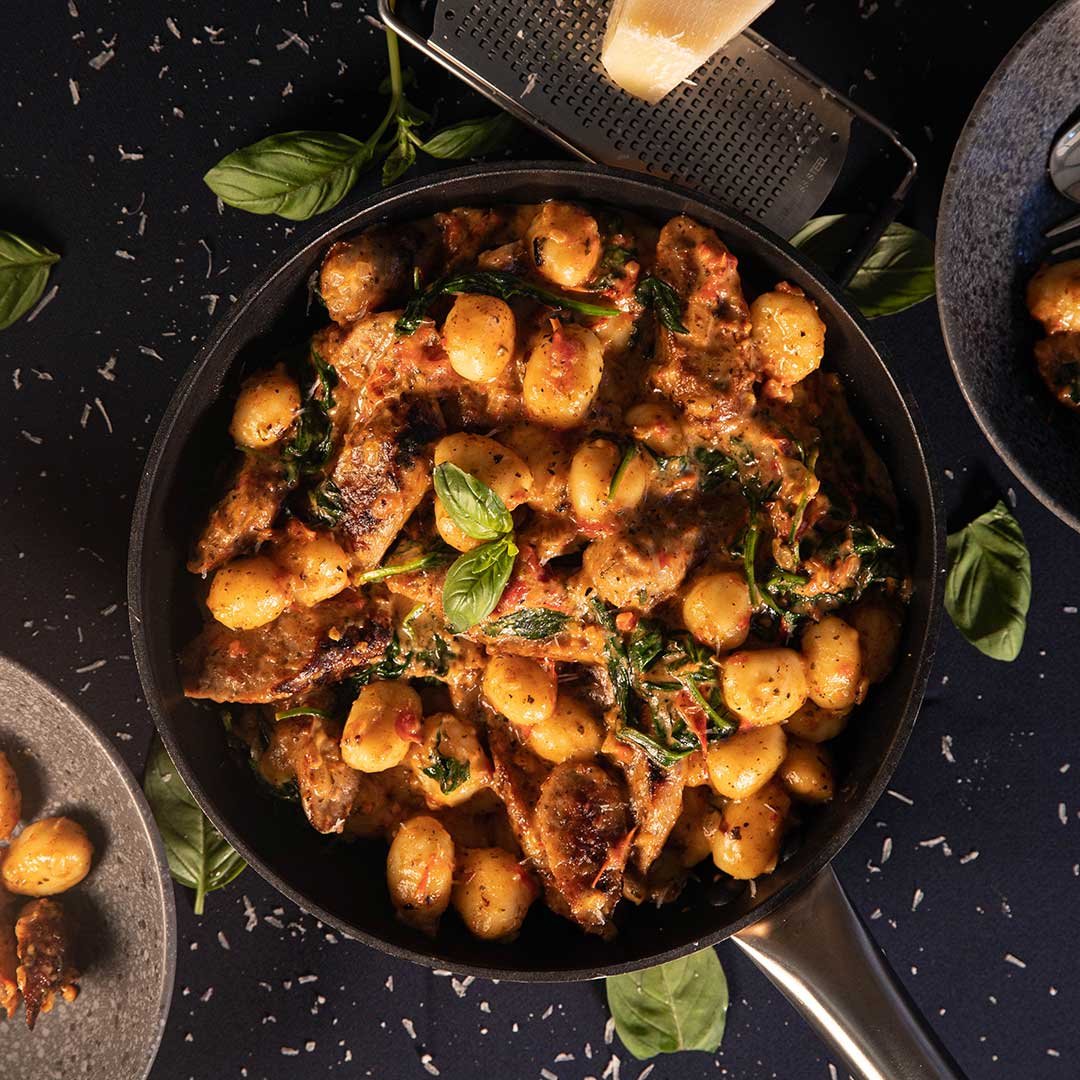 Three Aussie Farmers Tuscan Sausage Gnocchi