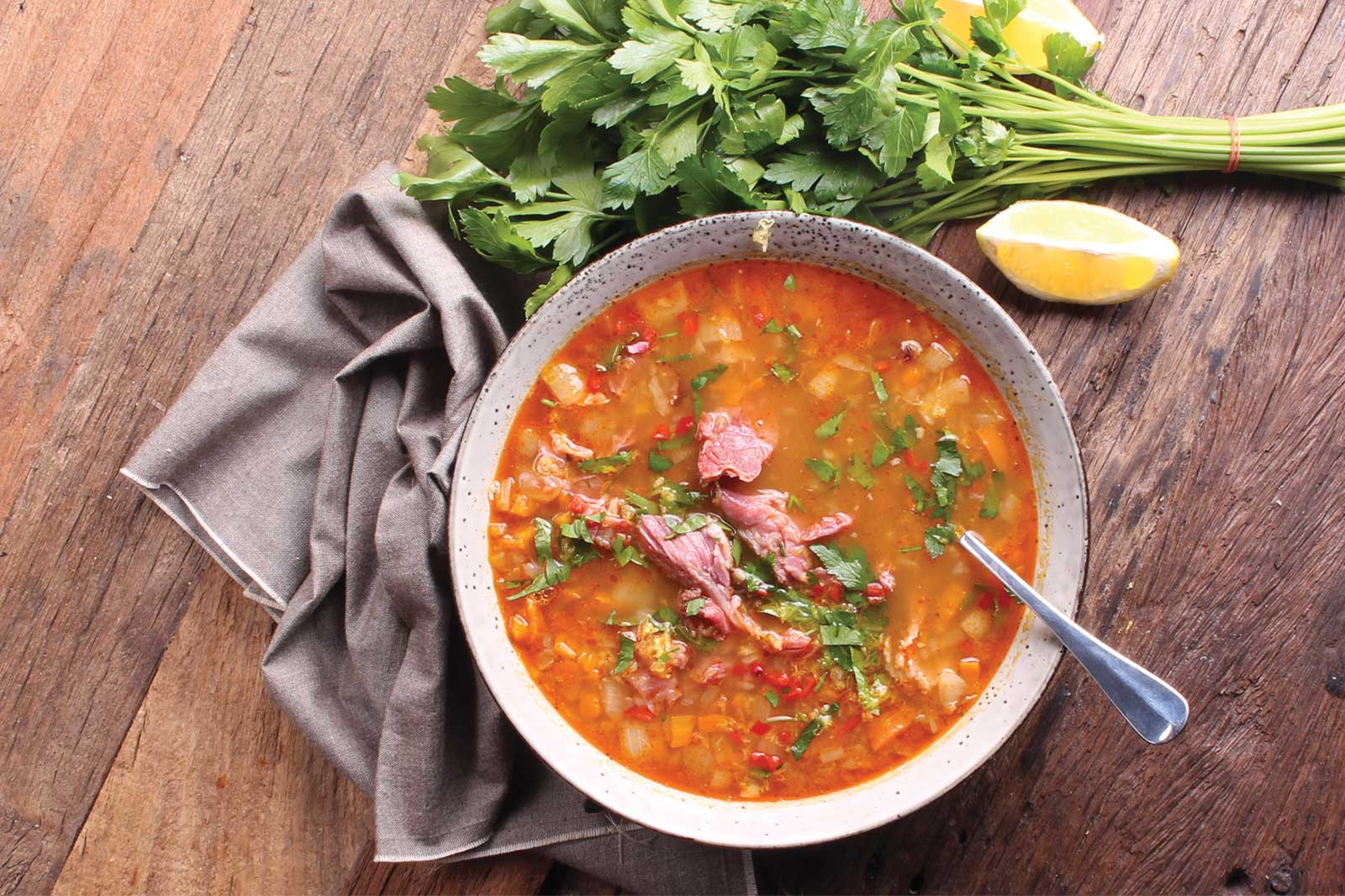 Three Aussie Farmers Bacon Hock Soup